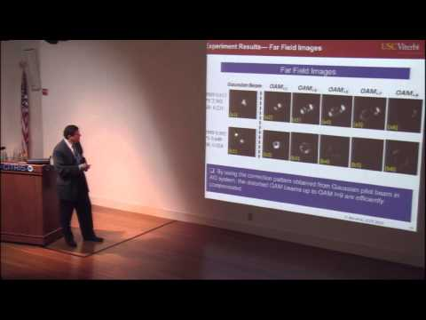 Alan Wilmer - Orbital Angular Momentum Multiplexing