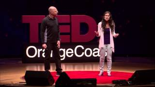 Autism - journey of hope: Eyal and Leya Aronoff at TEDxOrangeCoast