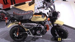 2016 Honda Monkey Z50 - Walkaround - 2015 Tokyo Motor Show