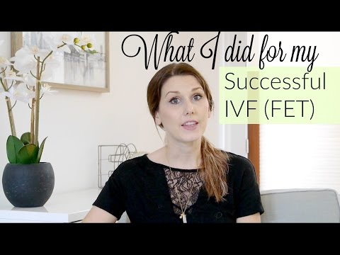 What I did for Successful IVF (frozen embryo cycle)