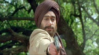 Assassination of British Official Saunder - The Legend Of Bhagat Singh Scene | Ajay Devgan