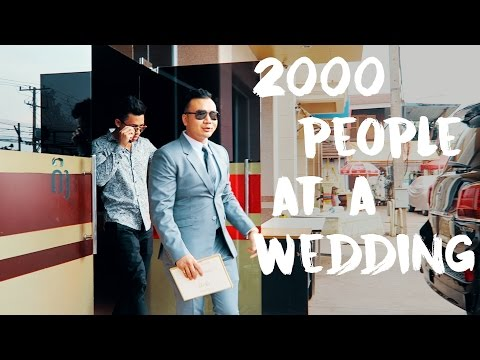 2000 People At a Wedding!? - Vientiane, Laos