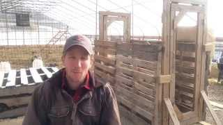 Diy Escape-proof Chicken Gate