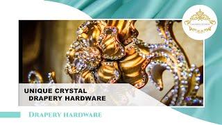 Video #17: Swarovski Crystal Elements | Dazzling Drapery Ideas | Slide Show