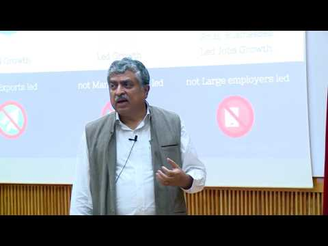 "Nandan Nilekani on ""Indian Economy In The Age Of Technological Disruption"" - Pt 1"