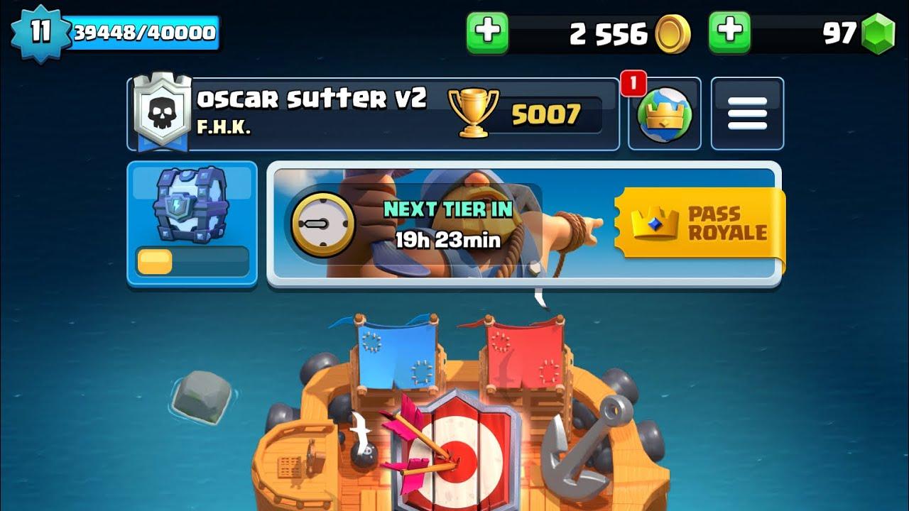 5000 pokaler clash royale league 4 Master I *episk?*