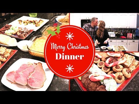 CHRISTMAS DINNER PREP // HOW TO MAKE CHRISTMAS DINNER // HOSTING DINNER
