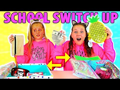 BACK TO SCHOOL SWITCH UP CHALLENGE!!!!