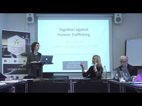 Ninna Mörner - Civil Society Against Human Trafficking in Sweden
