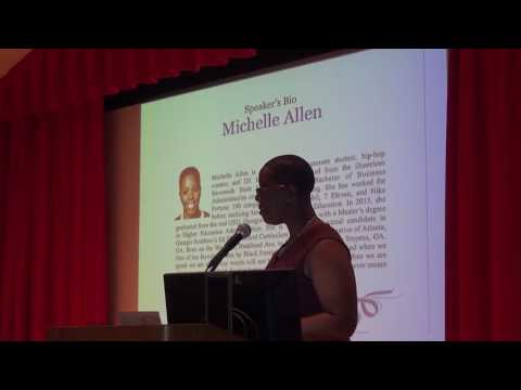 Clark Atlanta University NCNW Induction Speech