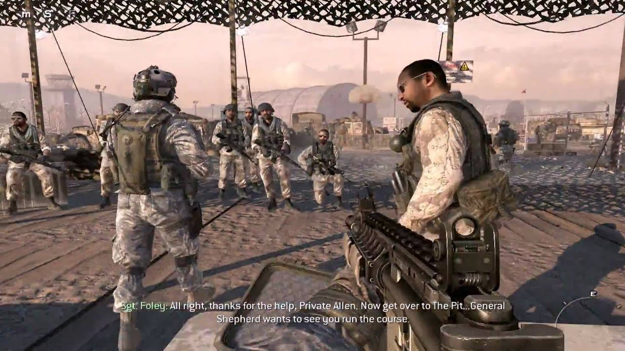 Call of Duty: Modern Warfare 2 - Campaign - Boot Camp ...
