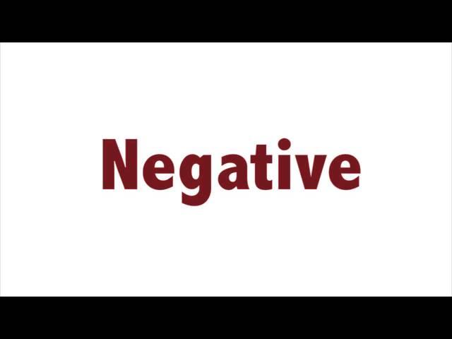 Affirmative/Negative Sentences - Lesson 11