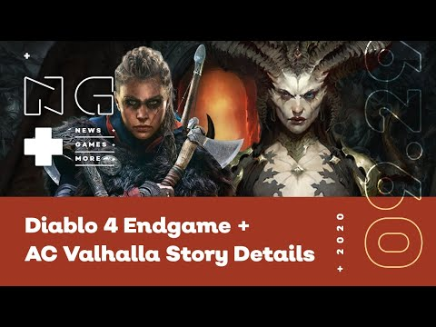 Diablo 4 Endgame + Assassin's Creed Valhalla Story Details - IGN News Live
