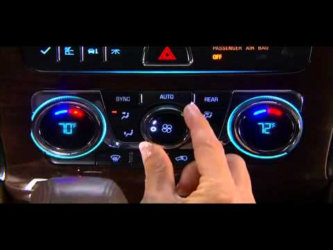 Buick Enclave Hvac Heater Air Conditioning System Youtube