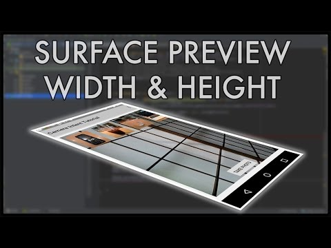 Camera2 API surface preview sizes - Nige's App Tuts
