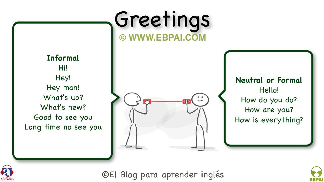 Greetings Formal And Informal Venainternetub