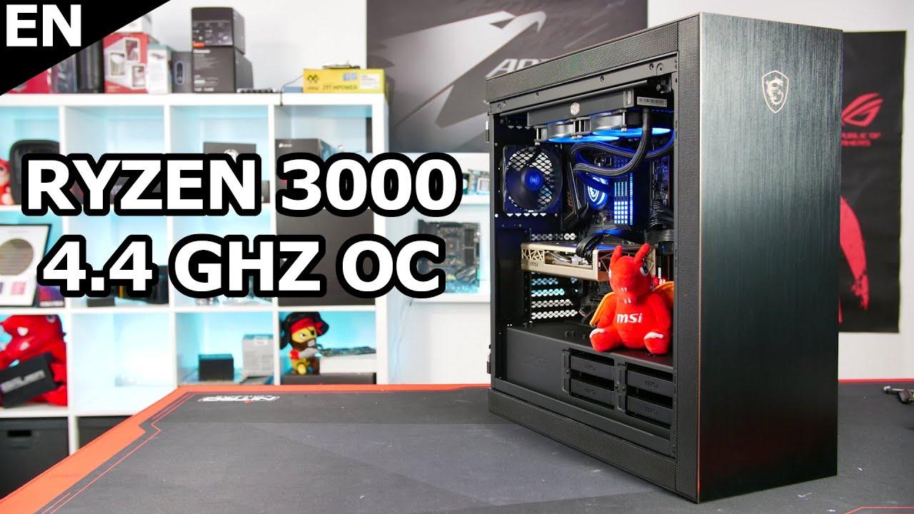 MSI powered X570 PC - With RYZEN 3800X Overclocked to 4.4 GHz