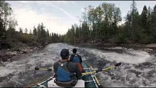 BC in 360: Rafting and Fishing the Stellako River