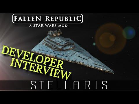 Star Wars: Fallen Republic | Developer Interview | Stellaris Total Conversion Mod