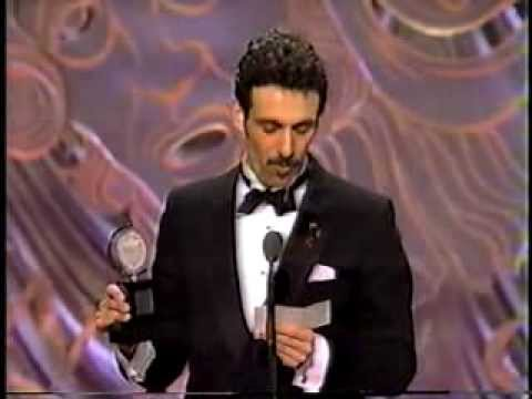 Anthony Crivello wins 1993 Tony Award for Best Featured Actor in a Musical