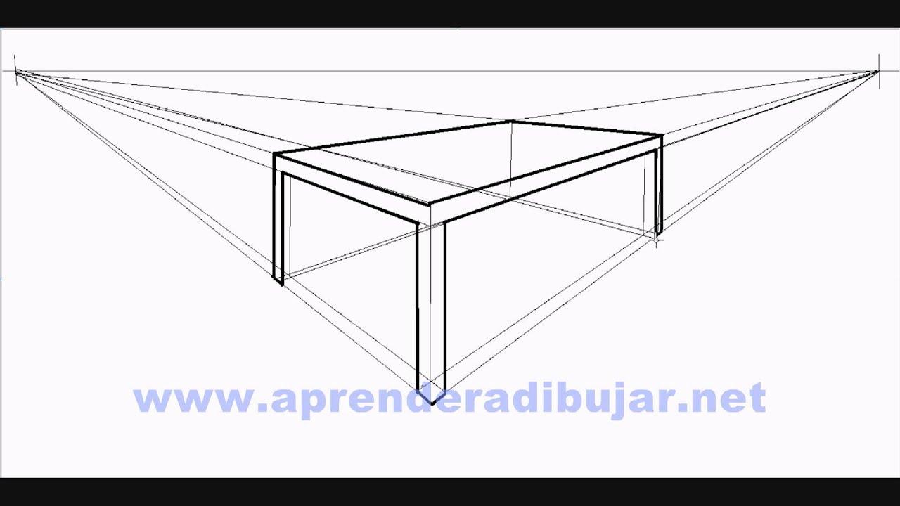 Como dibujar una mesa en perspectiva dibujos de mesas - Mesas dibujo tecnico ...
