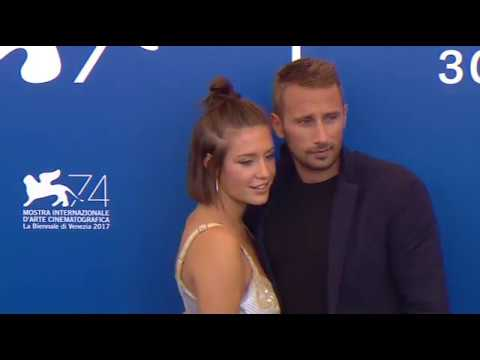 Matthias Schoenaerts & Adele Exarchopoulos photo call at The Venice Film Festival 2017