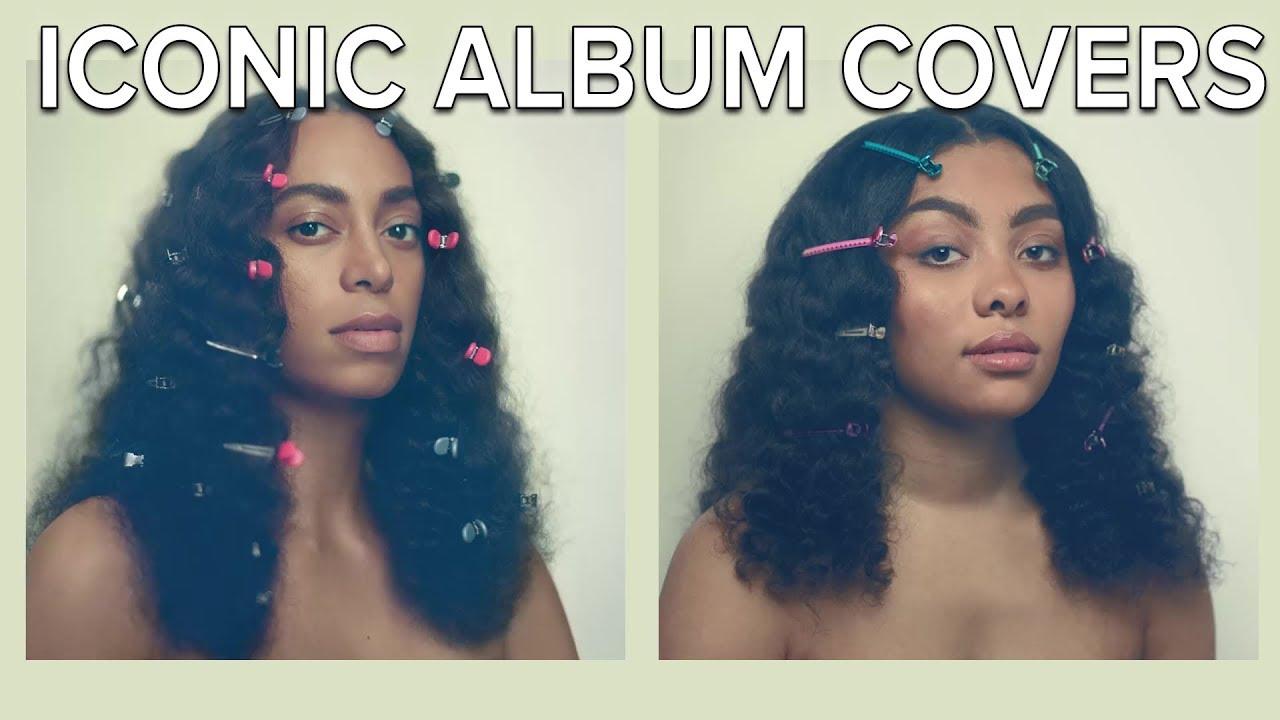 people re create iconic black album covers youtube