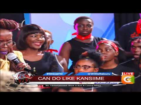 10 OVER 10 |Never a dull moment with Kansiime