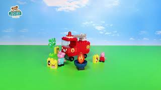 Stavebnica Peppa Pig Fire Engine PlayBIG Bloxx