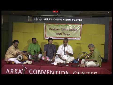 Music Season -2017 -BGS  and BGS Trus-Bangalore shankar Vocal
