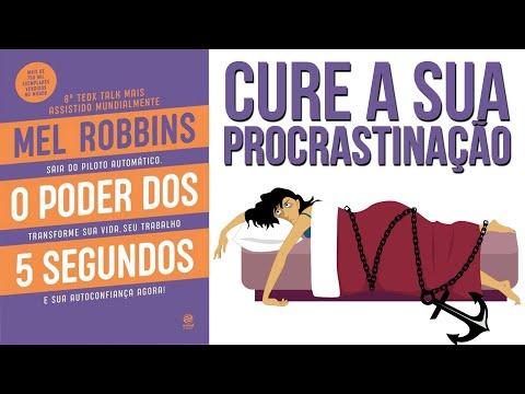 a-cura-para-a-procrastinação- -livro-o-poder-dos-5-segundos- -mel-robbins- -resumo-animado