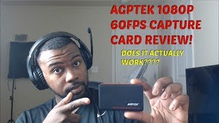MYPIN AGPTEK 1080P 60 FPS CAPTURE CARD REVIEW (PS4, XBOX ONE, PC, SWITCH)