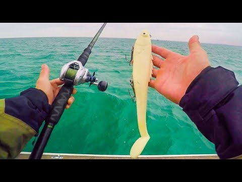 UNEXPECTED Giant Dinosaur Fish Caught While Muskie Fishing || Lake Saint Clair Musky Battle