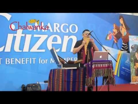 Susurro - Rodolfo Parada (Chalwanka live cover) at Margo City Depok