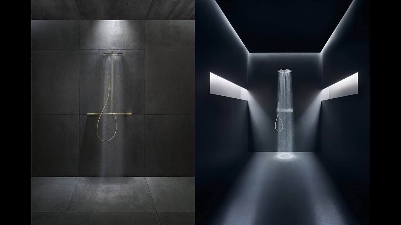 Axor launches its new shower and faucet range in Dubai - YouTube