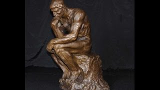 French Bronze Casting Rodin The Thinker