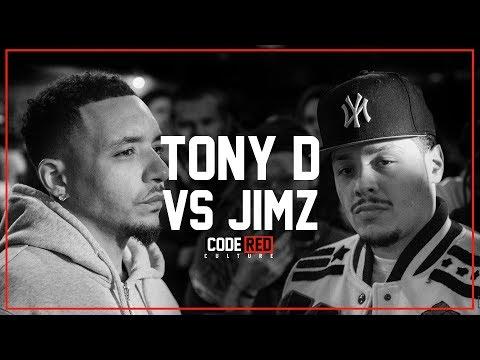 Code Red | TONY D VS JIMZ | Rap Battle