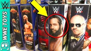 RARE WWE TOYS EVERYWHERE! WWE Toy Hunt at NEW YORK COMIC CON NYCC 2018!!