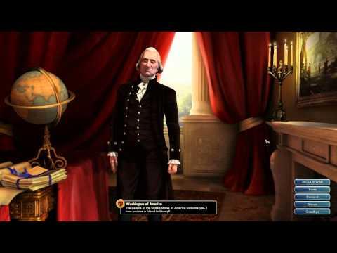 Civilization V OST | Washington Peace Theme | America the Beautiful