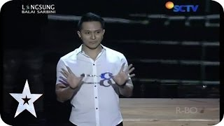 Demian and His Magic Trick - Guest Star - SEMIFINAL 2 - Indonesia's Got Talent