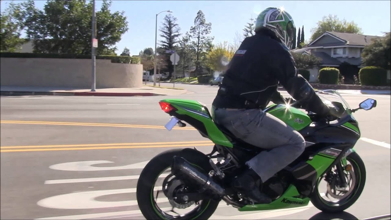 Best Beginner Sport Bike Motorcycle 2013 Kawasaki Ninja 300 Street
