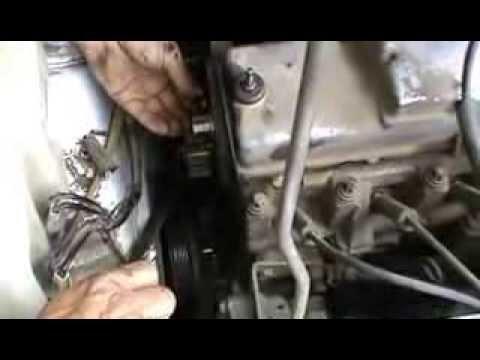 Как заменить помпу в ВАЗ 8 клапанный Двигатель