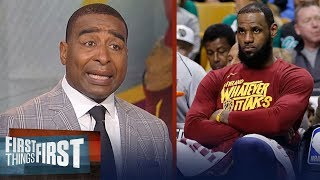 Cris Carter questions if LeBron James is to blame for Cavs playoff woes | NBA | FIRST THINGS FIRST