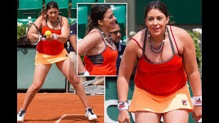 Ex-Wimbledon champ Marion Bartoli reveals healthy figure on court comeback after dramatic weight