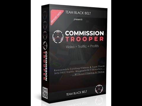 Commission Trooper Review: tráfico pasivo en cuestión de minutos   Demo Video1
