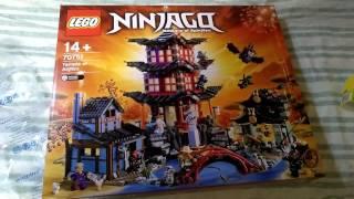 Lego haul 2 ninjago set 70751 temple of airjitzu unboxing.