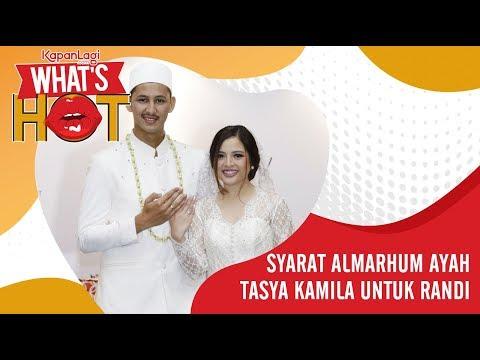 Tasya Kamila Menikah, Ini Syarat Almarhum Ayah Untuk Sang Suami