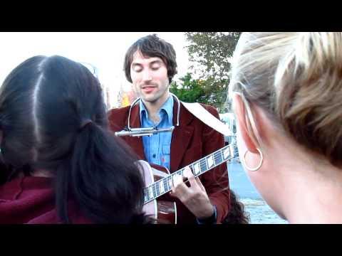 Matt Costa singing Cold December Live in Waterville Maine