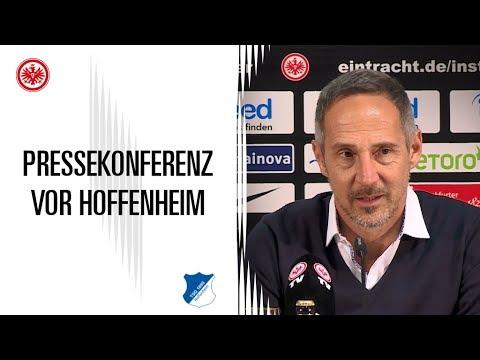 Pressekonferenz vor SGE - Hoffenheim