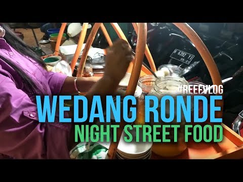 Exotic Salatiga Night Food, Wedang Ronde.